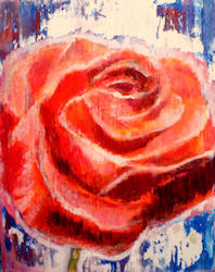 how to paint a rose step by step tutorial