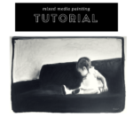 Beginning : Step by step mixed media painting tutorial
