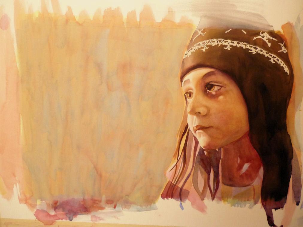Watercolor Portraits Tutorial Watercolor Portrait Painting