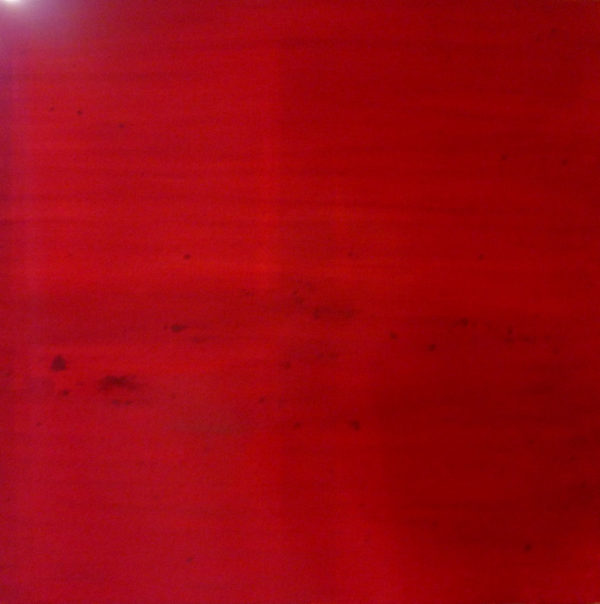 acrylic painting step by step : red under painting