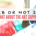 2B or not 2B, what about the art supplies?
