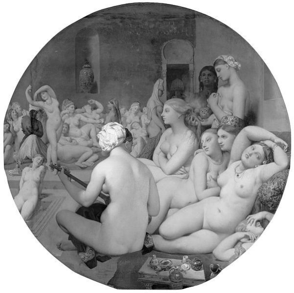 Ingres, getting better at painting