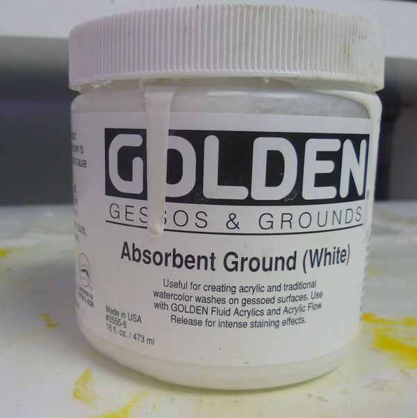 golden absorbent ground medium