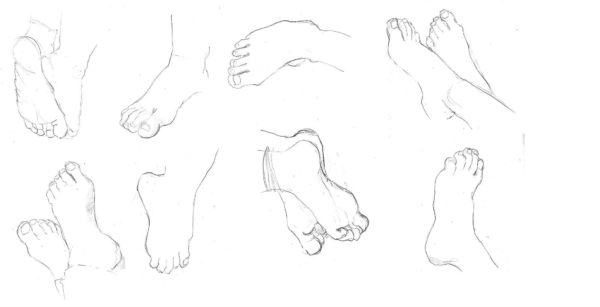 learn how to draw hands and feet