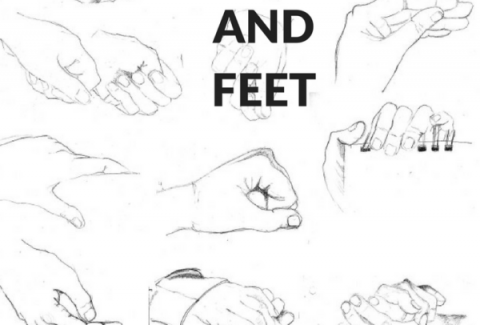 How to draw hands and feet by Sandrine Pelissier on ARTiful, painting demos