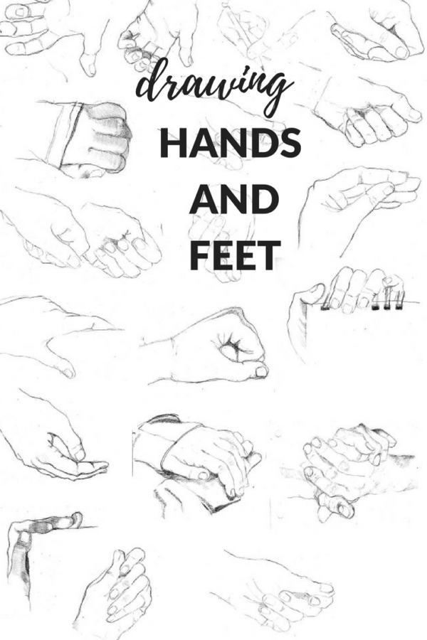 Drawing Hands And Feet Artiful Painting Demos