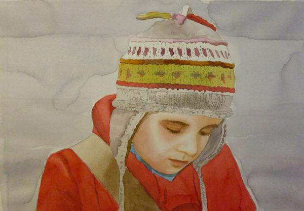 watercolor portrait painting tutorial