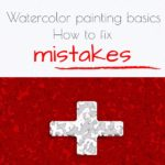 Watercolor painting basics : How to fix watercolor mistakes