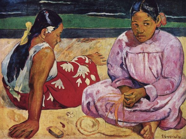 Tahitian Women on the Beach, (1891)