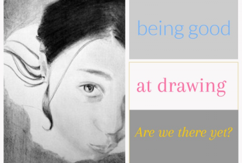 Being good at drawing: Are we there yet? on artiful painting demos by sandrine pelissier