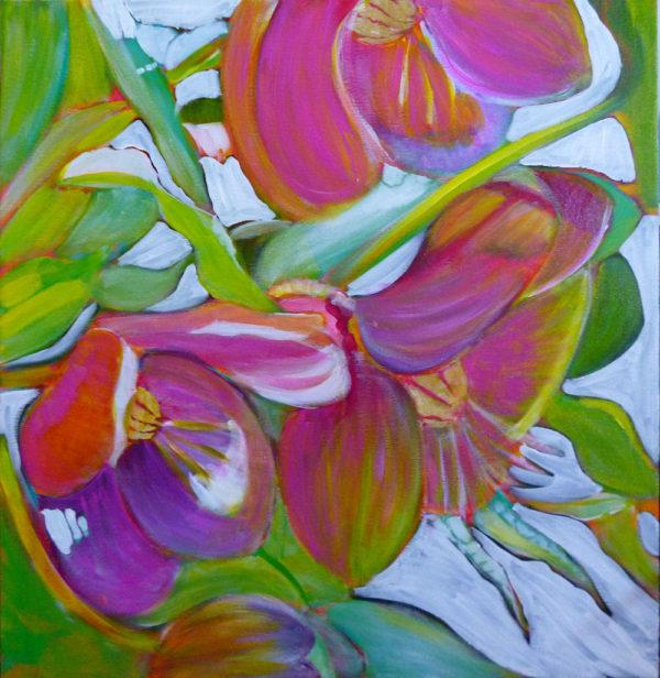 painting glazes with acrylic