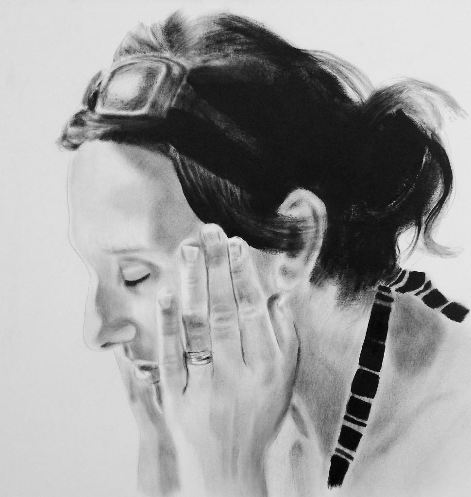 Dry brush painting