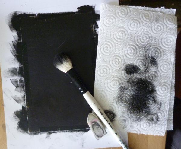dry brushing portrait painting tutorial
