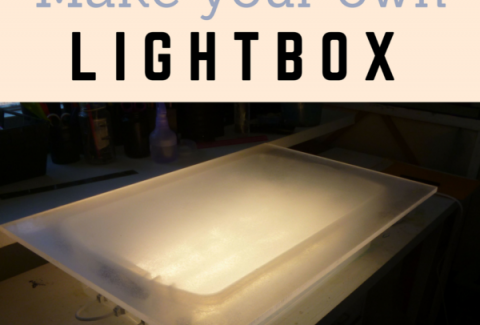 Make your own lightbox on ARTiful, painting demos by Sandrine Pelissier