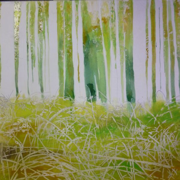 painting the trees foliage