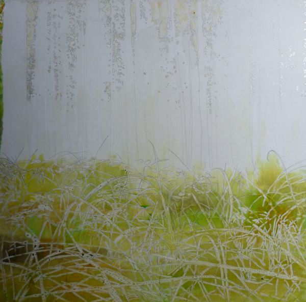 painting the grass background