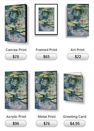 buy prints by North Vancouver artist Sandrine Pelissier