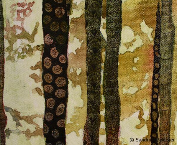 zentangle trees