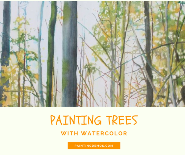 Arborescences Painting A Forest With Watercolor