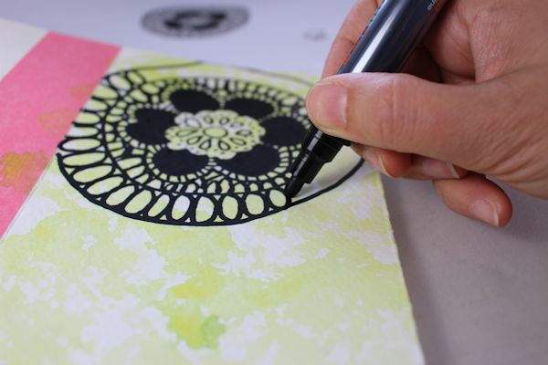 drawing patterns with sharpies