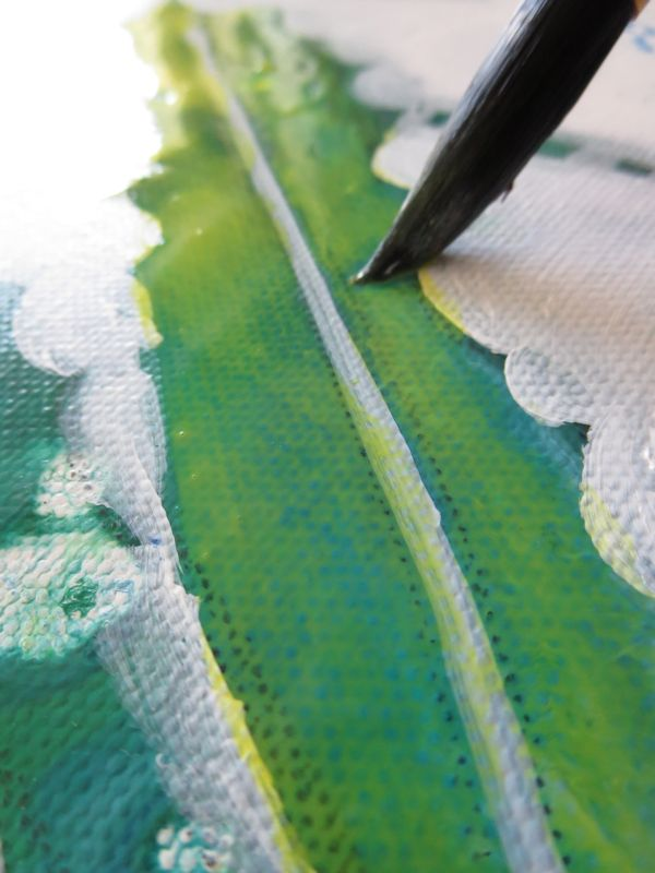 It will modify the surface tension and make it easier to spread the paint.
