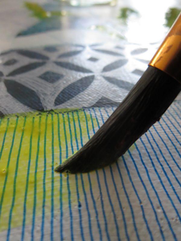Watercolor on top of waterproof Sakura pens