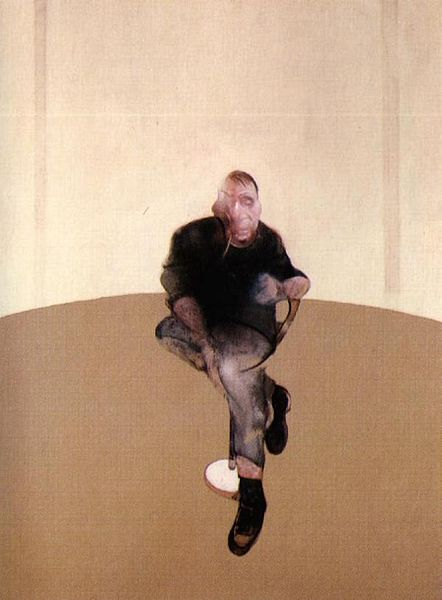 Study for a Self-Portrait—Triptych, 1985–86 by Francis Bacon Source via Wikipedia