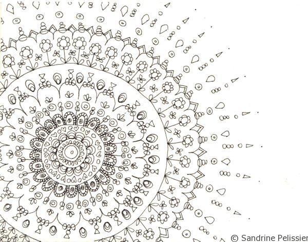 simple geometric shapes to draw mandalas