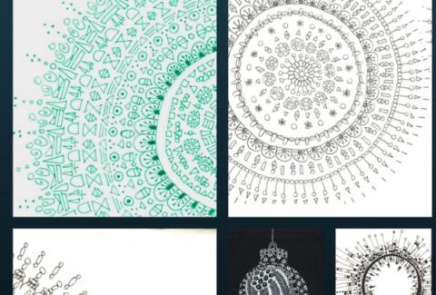 zentangle-and-mandala-inspired-christmas-cards-ideas