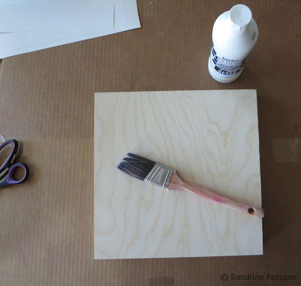 prepare the wood surface for painting