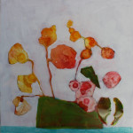 painting flowers on yupo paper