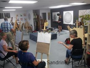 life drawing class in North Vancouver