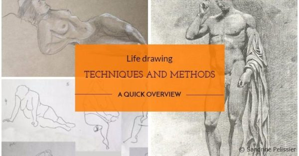life drawing techniques and methods