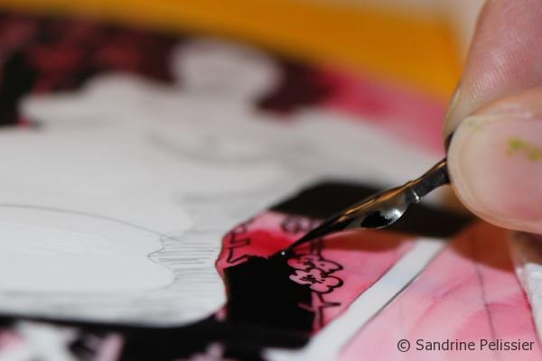 enjoy working on your art