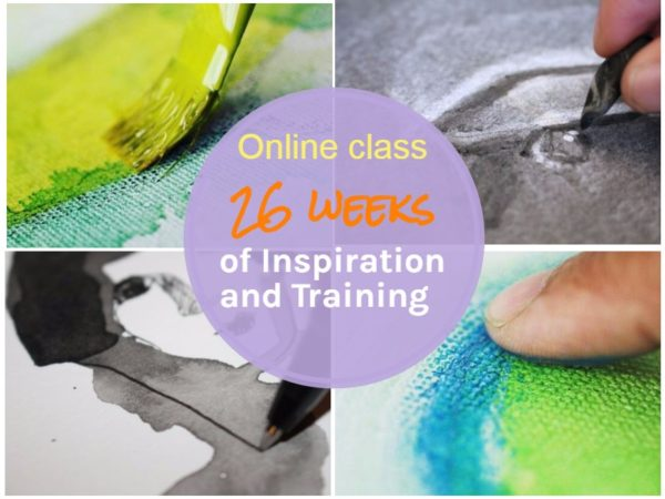 get feedback on your art online art class 26 weeks of inspiration and training