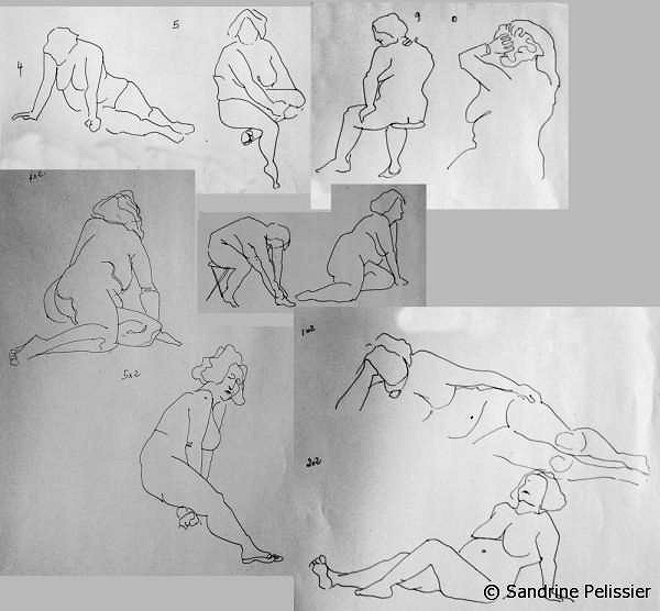 gesture drawing exercises