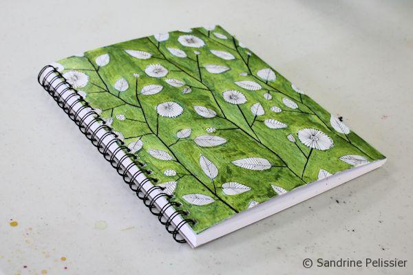customized personal art journal