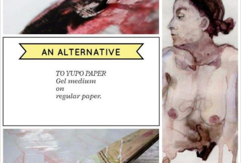an alternative to yupo paper