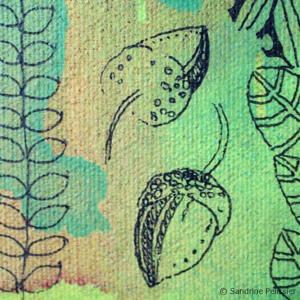 forest patterns doodles