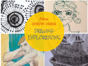New Online drawing Class: Learn how to draw for beginners