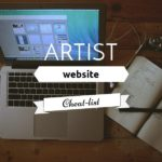 Artist website cheat-list | Excerpt from the online class: Sell your Art online