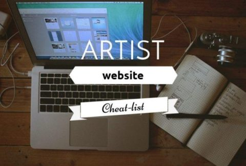 artist website cheatlist on ARTiful painting demos by Sandrine Pelissier