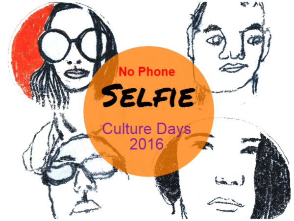 No phone selfie, part of culture days 2016