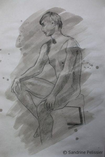 ink life drawing