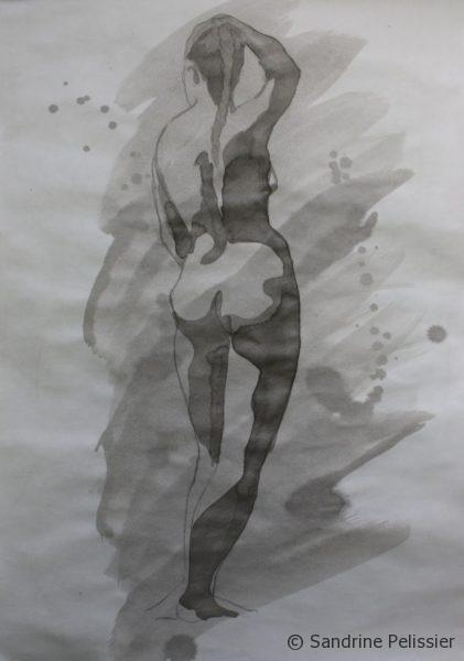 ink figure drawings