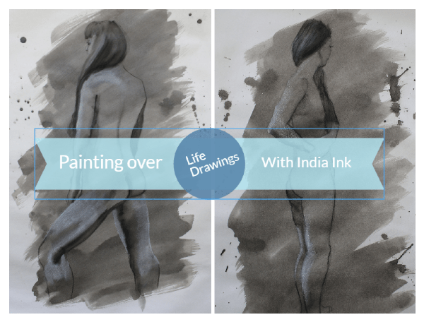 Painting-over-your-drawings-with-India-ink- 600