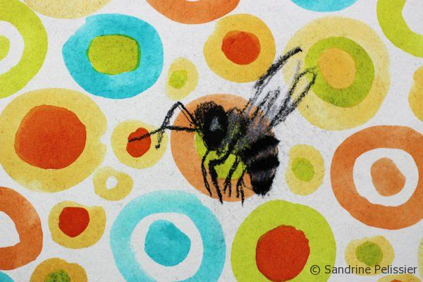 charcoal bees