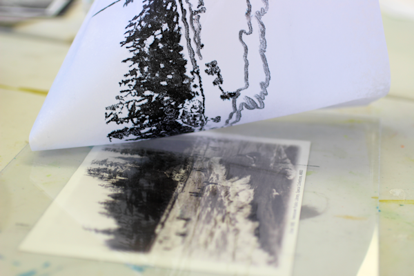 how to make a monoprint