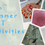 6 fun summer art activities to try for yourself or with your kids or grand-kids