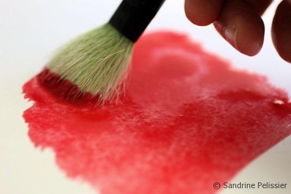 paint a watercolor wet wash